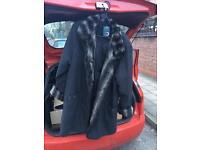 Ladies size 18 Fur Coat