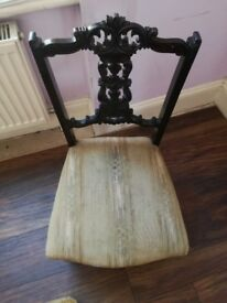 Small , pretty chair. £25.