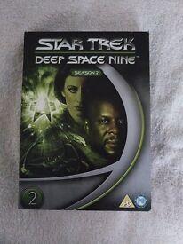 Star Trek DVD Boxsets £2.50 each/per season