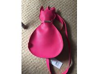 Pink cat bag - brand new with tags