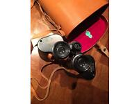 Greenkat binoculars with case - 12 x 60 - vintage, 1960s? great condition