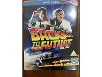 BRAND NEW,,Back to The Future 1,2,3 Blu-ray+Digital,,Sealed Box