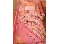 New toddler bed