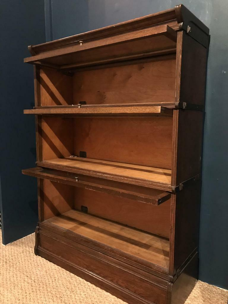 Antique Sectional Barristers Bookcase With Up And Over Doors In Salisbury Wiltshire Gumtree