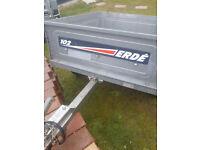 ERDE DAXARA 102 TRAILER CAMPING MOTOR HOME TIP RUNS ECT