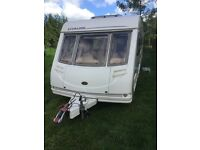 Sterling Eccles Moonstone,2003 4 berth caravan with full awning