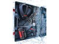 36 VOLT BOSCH PROFESSIONAL DRILL WITH HAMMER, BATTERY, CASE AND CHARGER IN GREAT CONDITION