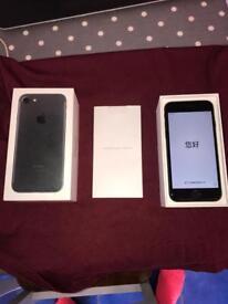 Apple iPhone 7 32gb Matte Black On Vodafone