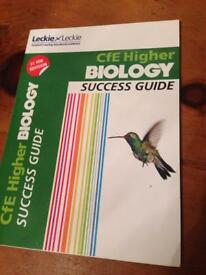 Higher Biology Success Guide