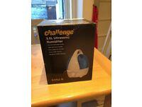 Quick sale. Challenge 3.5L Ultrasonic Humidifier in original box.
