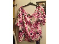 NEW WITH TAGS ANTHOLOGY BARDOT TOP SIZE 26
