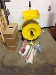 Kit de strapping polypropylene 1/2 Usagé / PP Strapping kit Used, strap, cerclage, emballage