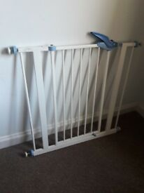John Lewis Baby Dan Wooden Safety Gate 4 Available In Oxford