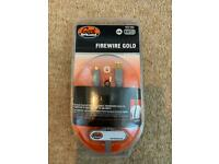 Geek Squad 1.8 IEEE 1394 Firewire Gold Plated Cable 6-4 pin