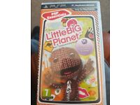 PSP Little Big Planet game