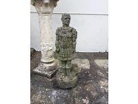Stone Roman soldier