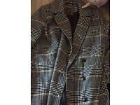 Coats both size 16