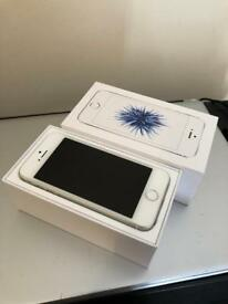 For sale Iphone SE 16GB Silver Unlocked