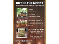 Bespoke Wooden Planters
