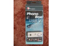 Phono box USB V - Record to your computer from audio devices