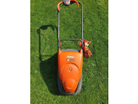 Flymo lawnmower turbo compact 330 TC330 electric lawn mower madeley tf7