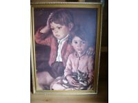 Large Framed painting only £25