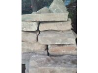 Large selection of building stone for sale