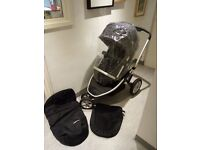 Mothercare Xpedior Pram and Pushchair Travel System – Excellent condition