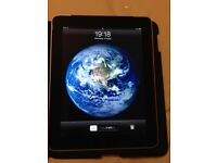 1st generation i-pad 64Gb wi-fi with stand/case