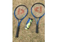 Tennis Rackets and Balls