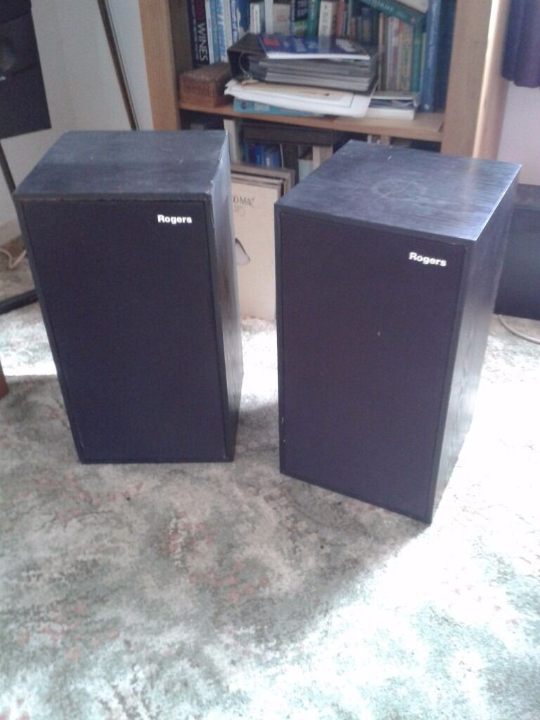Pair of Rogers LS6 speakers.