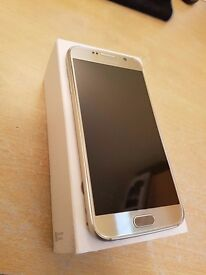 Samsung S6 32gb Gold near new condition