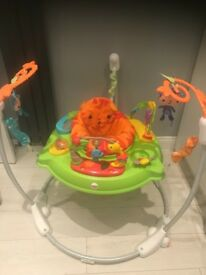 Rainforest jumperoo and baby seat