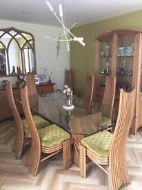 Multiyork Dining table and 8 chairs
