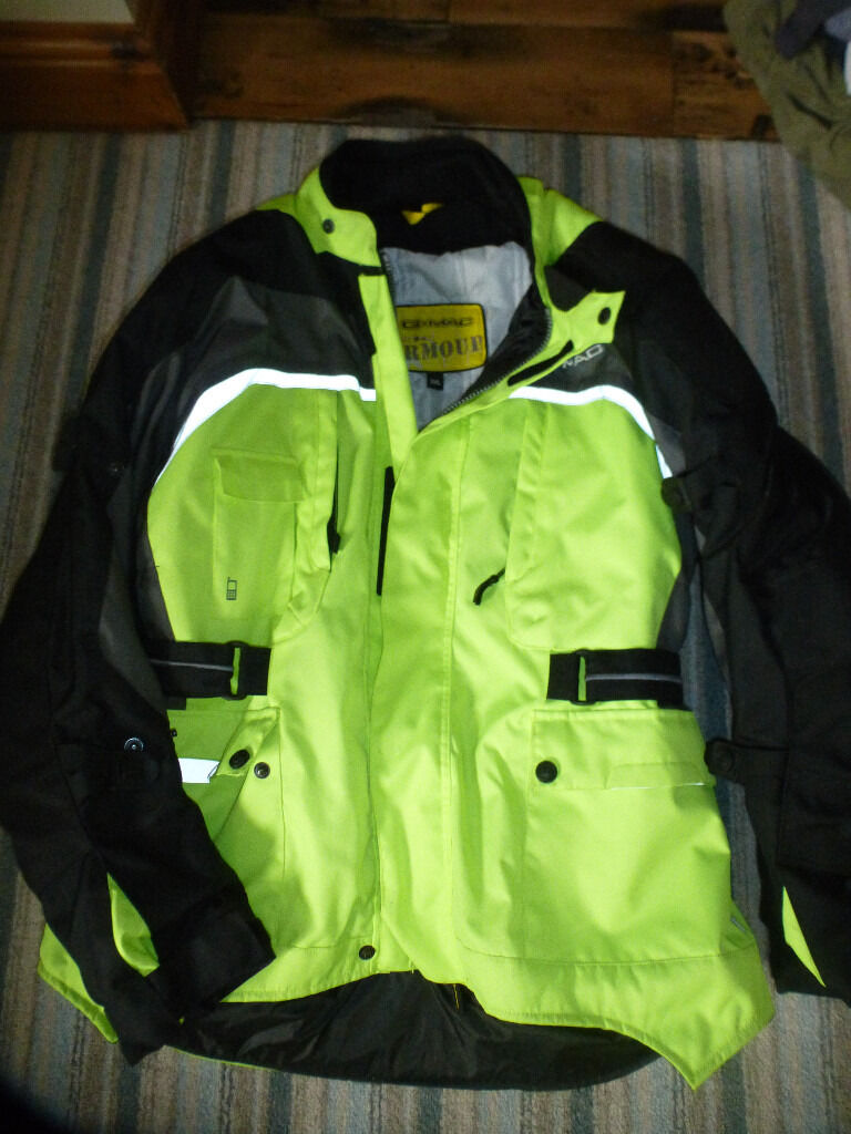 Mens jacket gumtree - Mens G Mac Urban Armour Motorcycle Jacket Trousers And Gloves