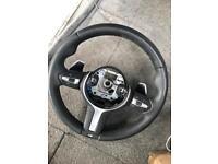 BMW 235i steering wheel including air bag