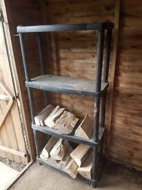 Shelves - Heavy duty modular - for house, garage, shed or workshop