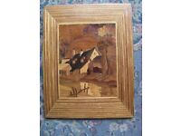 Hand Crafted Marquetry Picture
