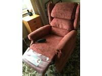 Electric recliner cosi chair
