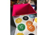 Large toy box storage