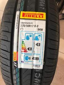 2 Pirelli Cinturato P7 2 Pirelli Cinturato P7 225 50 17 94W RUN FLATS BRAND NEW