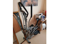 Fitnessform Cross Trainer 2-in-1 Fitness Elliptical Exercise Bike