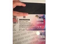 BBC big weekend ticket