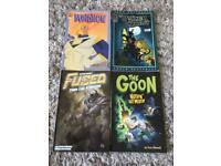Graphic Comics / Novels x4