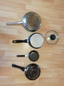 Free old pots and pans