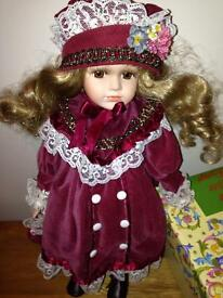 Brand new doll with box