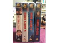 HOME ALONE 4 HOME ALONE 3 HOME ALONE 2 HOME ALONE VHS VIDEO UK GOOD CONDITION