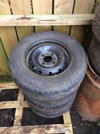 4x108 steel wheels