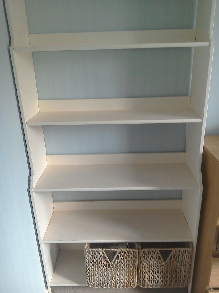 Solid wood bookcase leksvik ikea purchase sale and for Furniture kingdom benfleet