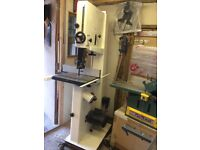 Jet JWBS-16✕ Bandsaw. A powerful beast. Barely used. Collect only